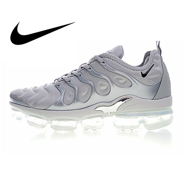 wholesale dealer d1de8 03c45 Original Authentic NIKE AIR VAPORMAX PLUS Mens Running Shoes Sport Outdoor  Sneakers Athletic Designer 2018 New 924453-005