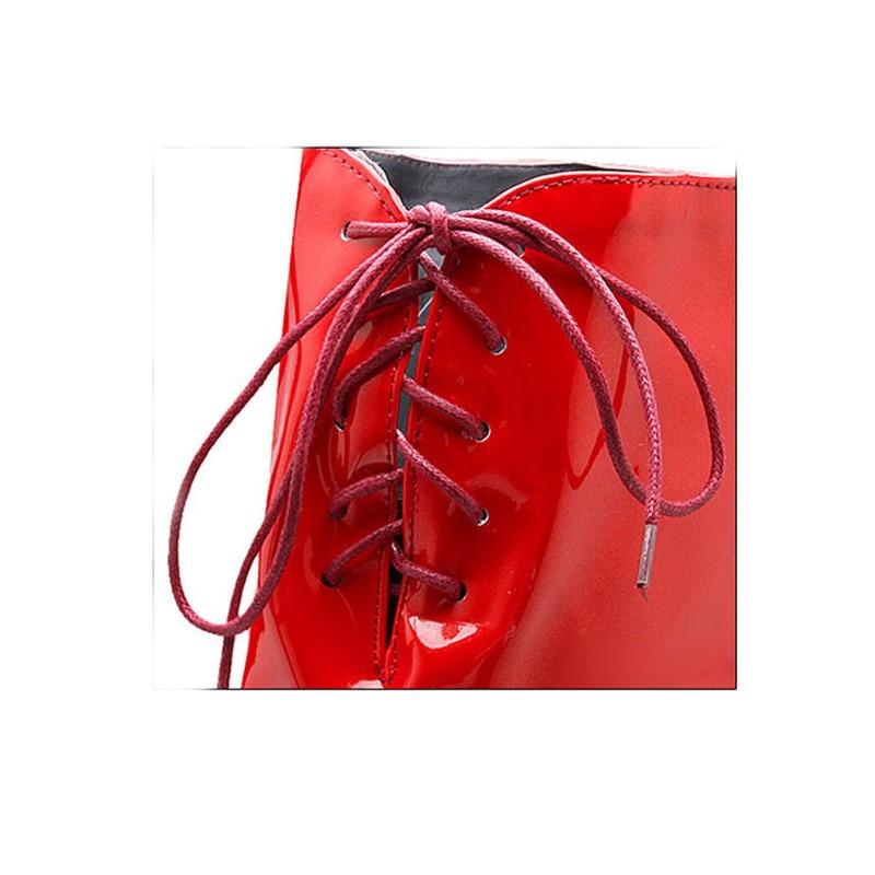 Zapatos Mujeres Alto Botas Sobre Black 43 Plataforma 2018 Tamaño Invierno Tiempo De 34 Las Plus Sexy Mujer Rodilla white La Tacón Nuevas Jyrhenium red 6x8wtIv