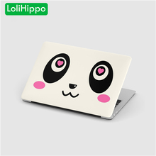 LoliHippo Panda Series Laptop Computer Protective Case for Apple New Macbook Air Pro 11 12 13.3 15.4 Inch Retina Notebook Cover