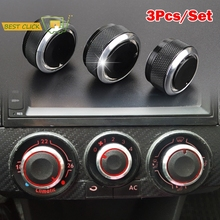 For VW FOX 5Z Plus Suran SpaceFox CrossFox Lupo SportVan AC Heater Dash Climate Switch Knobs Buttons Air Conditioner Knob Dials
