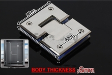 Stainless steel glass clamp,connector,shower room folder(Me-1120),glass hinge
