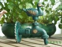 Animal faucet garden faucet antique faucet antique faucet washing machine leading duck
