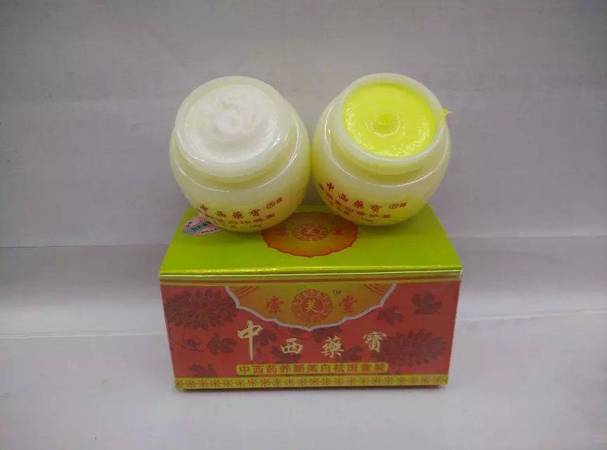 Китайская и Западная медицина отбеливающий крем против веснушек 2 шт./компл