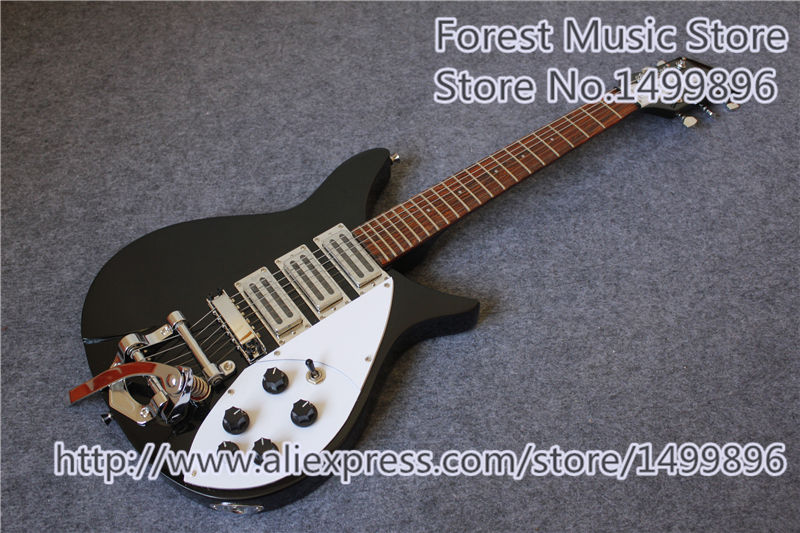 China OEM Rick Electric Guitar In Glossy Black Same As Pictures For Sale electric guitar new tl guitar oem guitar guitar in china
