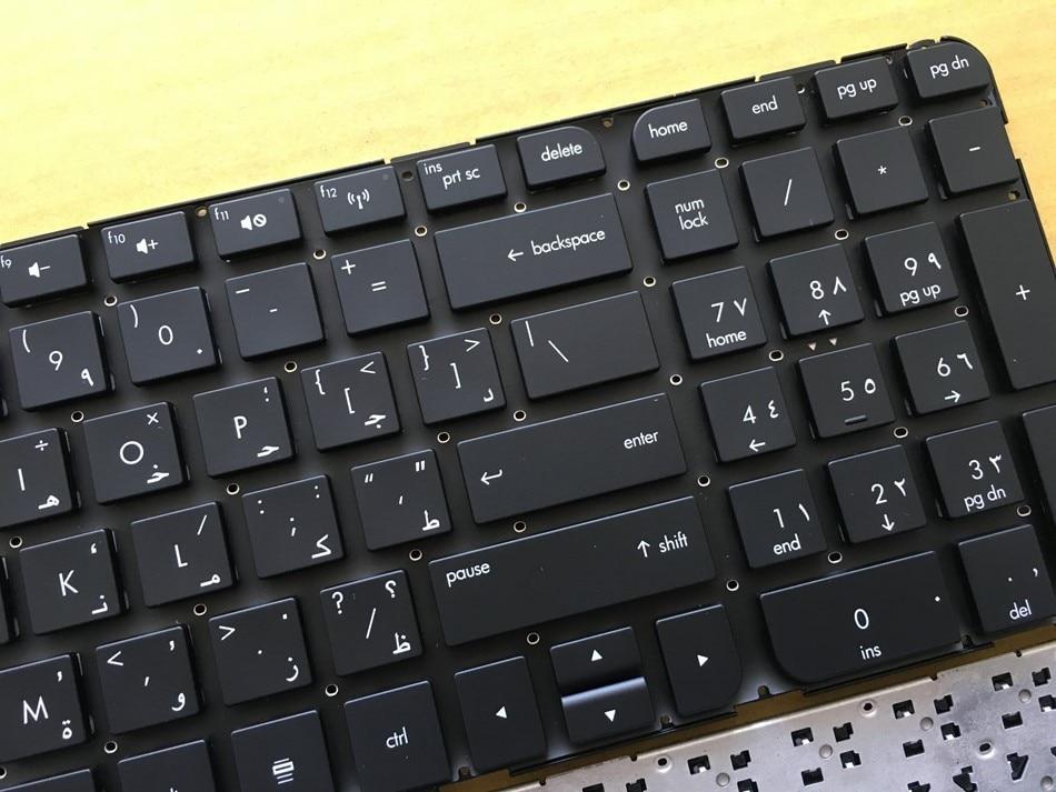New AR Arabic Keyboard For HP Pavilion DV6-7000 Series DV6-7100 7200 7001TX 7002TX 7002 7029 7031 7035 7100 DV6-7200 No frame AR
