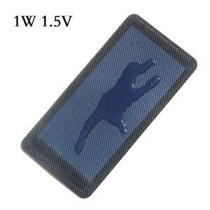 Image 5 - BUHESHUI 0.3 W 0.5 W 0.7 W 1 W 1.5 W 1.5 V Celle Solari Flessibili In Silicio Amorfo Molto Sottile Pannello solare FAI DA TE Caricatore Istruzione Kit