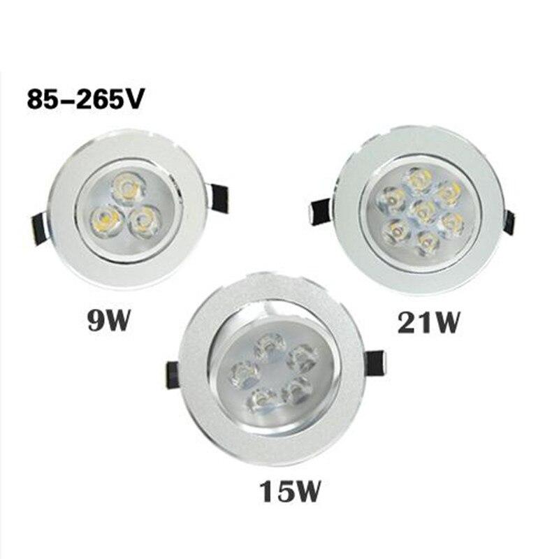 3 x Kanlux 7W 600 Lumen GU10 LED spot ampoule lampe Downlight blancs de lumière du jour 6500 K