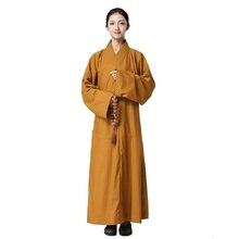 Vesti monaco buddista femminile uniforme zen abbigliamento monaco shaolin  vestiti monaco buddista del costume delle donne 3dfc4ab133d