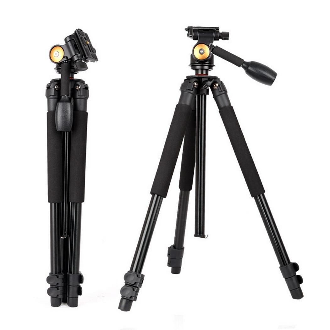 Profesional fotográfico portátil plegable telescópico antideslizante 44cm Cámara fotografía 3 secciones trípode