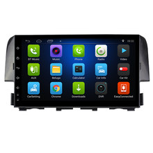 "9""Android 7.0 ! Car DVD PC Multimedia DVD Player GPS Navi Stereo Radio Fit HONDA CIVIC 2016 2017 2018 2019 3G WIFI OBD DVR MAPS(China)"