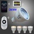 Mi свет 2.4 Г GU10 4 Вт CW/WW СВЕТОДИОДНЫЕ Лампы CT Цветовая Температура Яркость Отрегулировать фары лампы Нью-контроллер WI-FI ibox