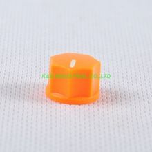 все цены на 10pcs Colorful Orange Rotary Control Plastic Potentiometer Knob Guitar Knurled Shaft Hole онлайн
