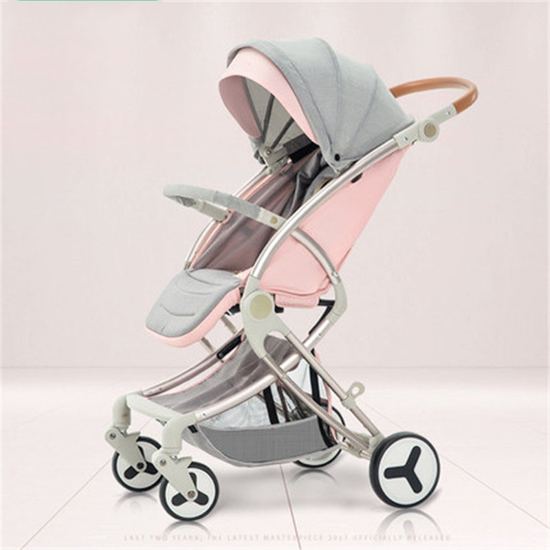 New Arrival Fold Portable Traveling Baby Carriage Buggy Stroller Baby Pram high landscape baby stroller