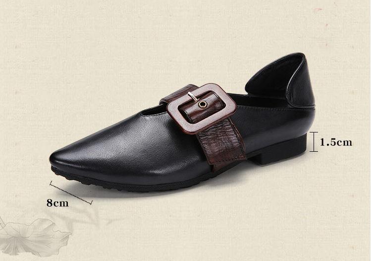 Saisons Semelle Style Faible Quatre Nouvelle Confortables Gykz Souple Chaussures Européenne Printemps 2018 Pointu Noir Offre En Talon Cuir rouge Spéciale D'été CgC6vXxwnq