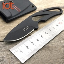 LDT Harley 13212 Fixed Blade Knife D2 Blade Steel Handle Camping Outdoor Hunting Knives Pocket Survival Military Knife EDC Tools