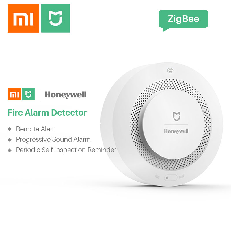 Image 4 - Xiaomi Smoke Detector Honeywell Sensor Mijia Fire Alarm Audible&Visual Alarm Work With Gateway 2 Smart Home Remote APP Control-in Smoke Detector from Security & Protection