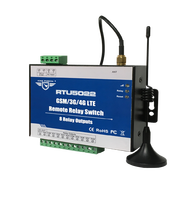RTU5022 Бесплатная доставка GSM SMS GPRS 3g 4G дистанционный переключатель реле можно управлять из любого места без ограничения расстояния