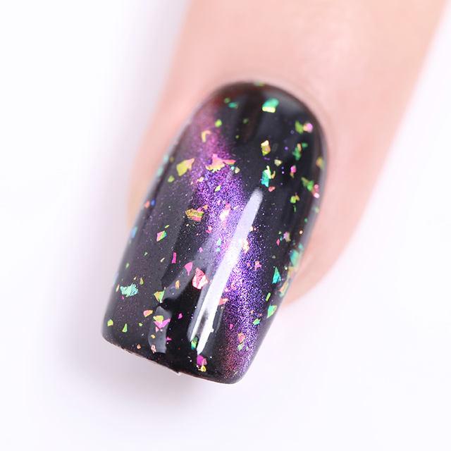 LILYCUTE Starry Sky Magnetic Nail Gel