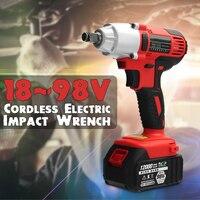 AC В 240 100 в 400 нм Электрический ударный ключ 12000 мАч литий ионный беспроводной ударный ключ 2 батареи 1 зарядное устройство инструмент питания
