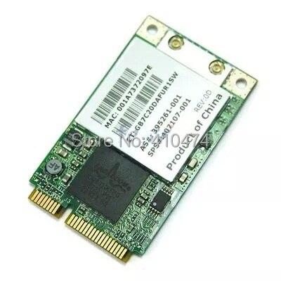 SSEA pour Broadcom BCM4311 MINI PCI-E 802.11b/g Wlan WIFI Sans Fil Carte pour HP V3000 DV6000 DV9000 407159-002