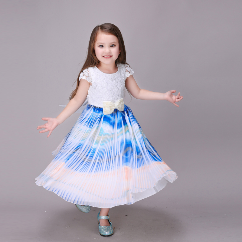 11.11 High Quality Maxi Dresses For Kids Birthday Clothes Fashion Europe Princess Party Monsoon Girl Dress For Girls