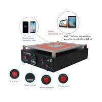 LY 968D 2 в 1 Встроенный вакуумный ЖК дисплей Экран отделяя 19 дюйм(ов) для iPad iPhone Таблица