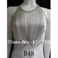 FREE SHIPPING B48 New Arrival Trendy Chains Fashion Jewelry Long Necklace