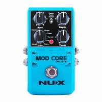 NUX MOD rdzeń DELUXE gitara pedał efektów 8 efektów modulacji Preset blokady sygnału Guitarra Multi modulacji pedał akcesoria gitarowe