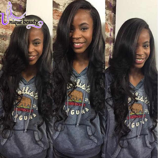 Best Queen Hair Products Cheap Peruvian Virgin Hair 4 Bundle Deals