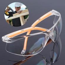 חדש בטיחות משקפיים שקוף אבק הוכחה משקפיים עבודה משקפיים מעבדה שיניים משקפי להתיז מגן נגד רוח משקפיים משקפי