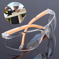 NEW Safety Glasses Transparent Dust Proof Glasses Working Glasses Lab Dental Eyewear Splash Protective Anti wind Glasses Goggles|Safety Goggles| |  -