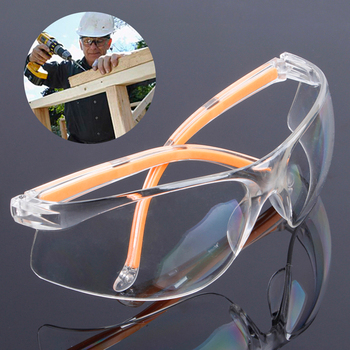 NEW Transparent Safety Glasses Made Of Polycarbonate Material For Working Glasses