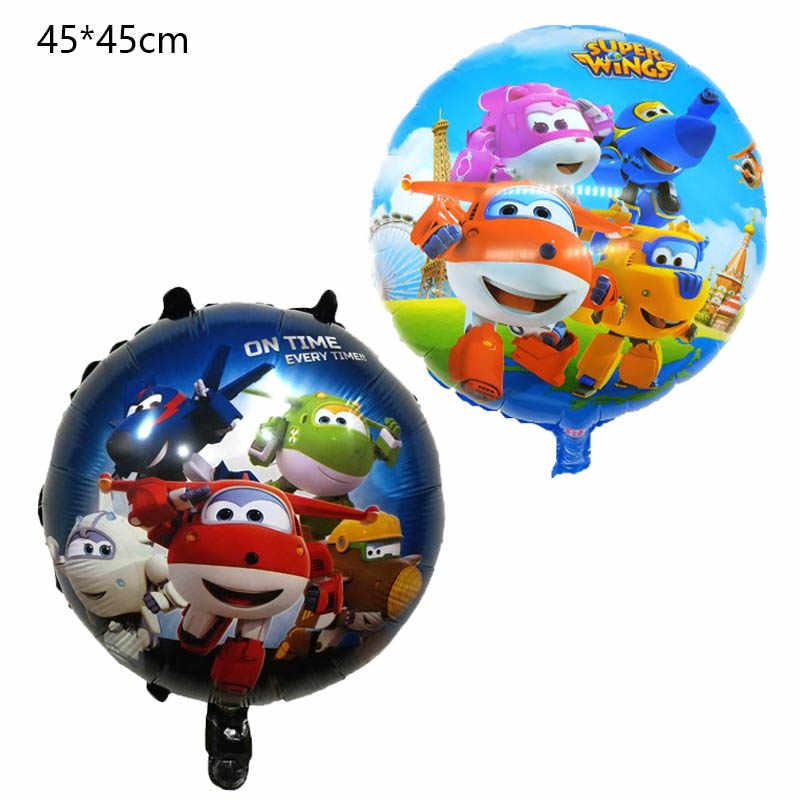 7 estilo 3d super asas balão jett balões 18 polegada super asas brinquedos decorações da festa de aniversário crianças brinquedos jett globos suprimentos