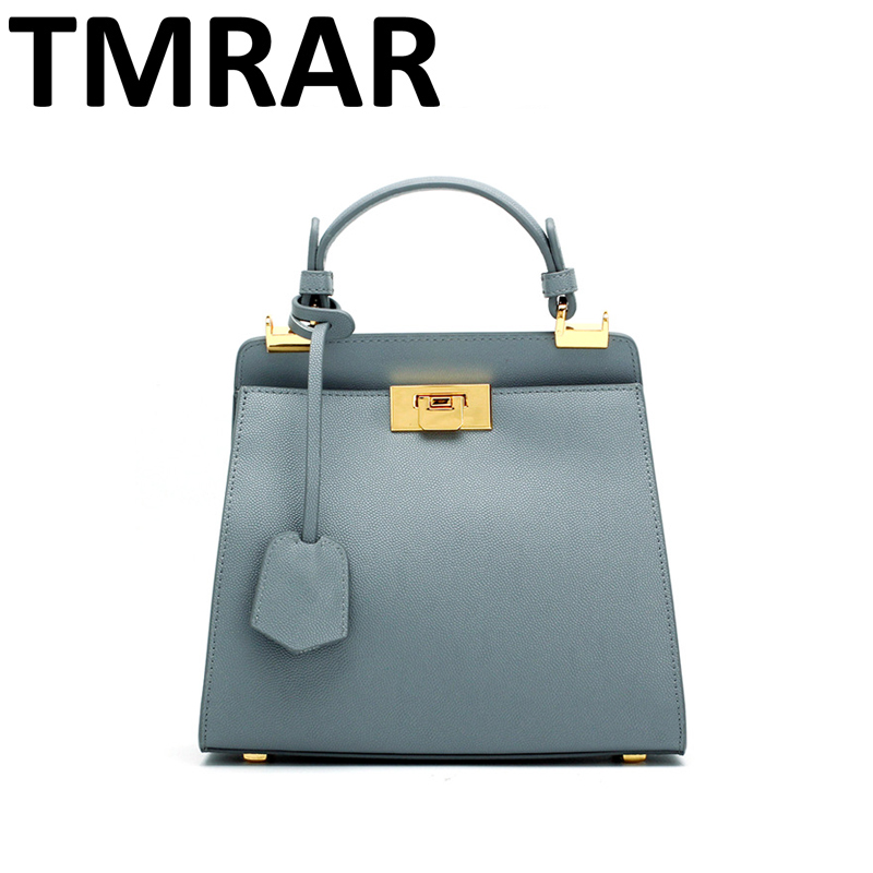 2018 New simple small tote messenger bags lady split leather handbags women elegant crossbody bags for female bolsas qn276 2018 new classic bucket messenger bags popular tote lady split leather handbags women chains shoulder bags bolsas qn250