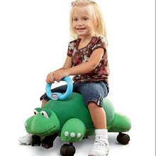 Animal Pillow Racers With Replace Handle soft comfortable Baby Cute Walker Bettle Turtle Unicorn Dinosaur shape