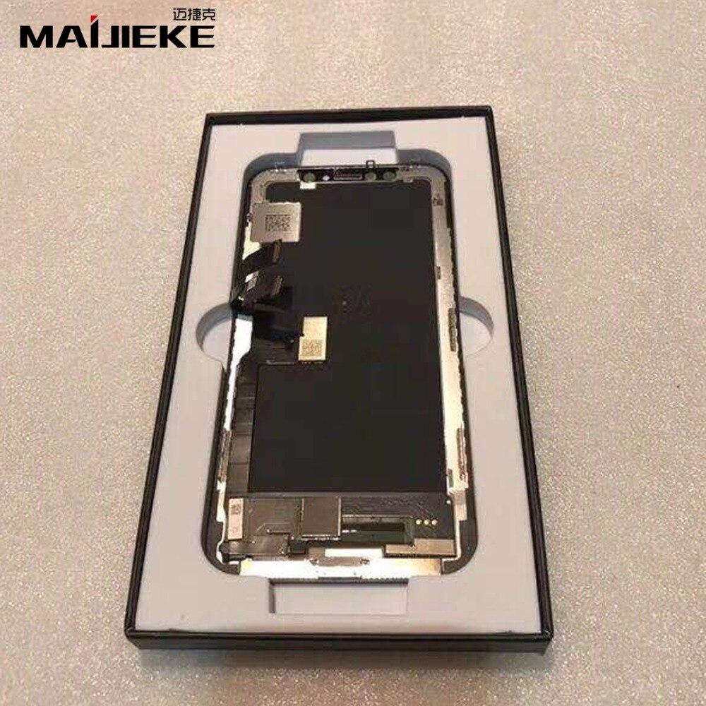 MAIJIEKE высокое качество AAA 100% Протестировано качество GX ЖК Замена для iPhone X 8X ЖК дисплей 3D сенсорный экран дигитайзер сборка