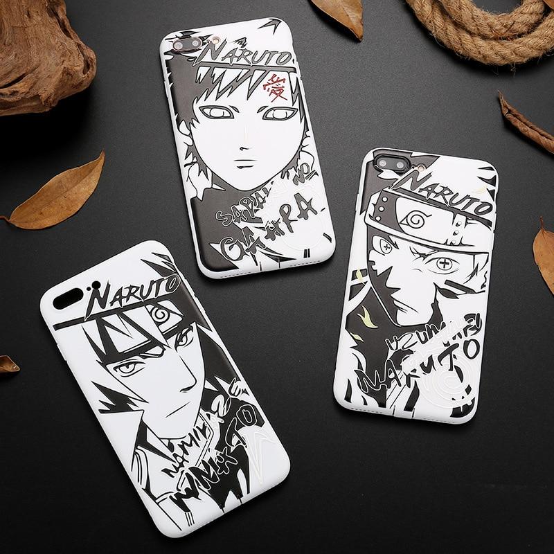 Fur Iphone X 10 3d Silikon Anime Naruto Skizze Tpu Soft Case