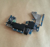 JEDX Original For HTC ONE M7 Main Motherboard With Audio Jack Flex Cable Power Volume Flex