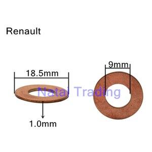 Image 2 - Common rail injektor düse kupfer pad dichtung für kraftstoff injektor dicht diesel pumpe reparatur werkzeug teile