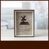 Retro Photo Frame Table DIY Art Creative Ornaments Photo Wall Combination Frames Bedroom Ornaments Pictures Frames Decoration