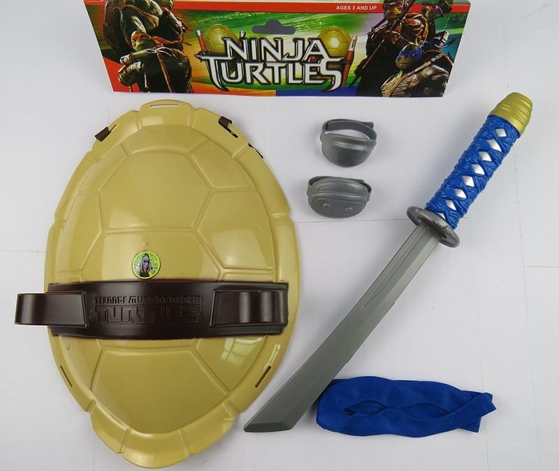 2016 nouveau tmnt teenage mutant ninja turtles armes jouets tmnt les tortues armure shell jouet film