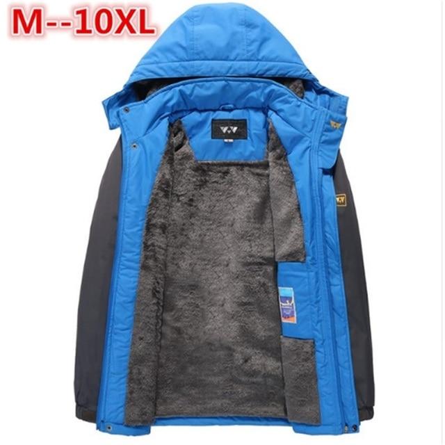 Best Price 10XL 9XL 8XL 6XL 5XL Brand Winter Jacket Men Warm Thicken Coat High Quality Famous Cotton-Padded Fashion Parkas Elegant Business
