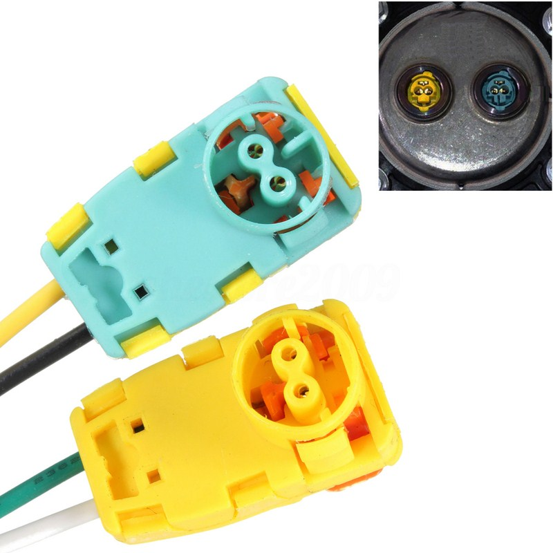 2pcs Airbag Plug Connector Replacement Airbag Wire Plug For Driver Wheel Airbag With Inserts For Focus Volt Equinox Sonata