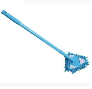 Fregona Mini mopa Color aleatorio Mini plana perezosa fregona de pared cepillo...