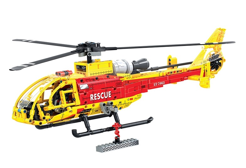WEILE Technic City Rescue Helicopter Aircraft Model Building Blocks Sets Bricks Kids Toys For Children Gifts Compatible Legoings kazi 608pcs pirates armada flagship building blocks brinquedos caribbean warship sets the black pearl compatible with bricks