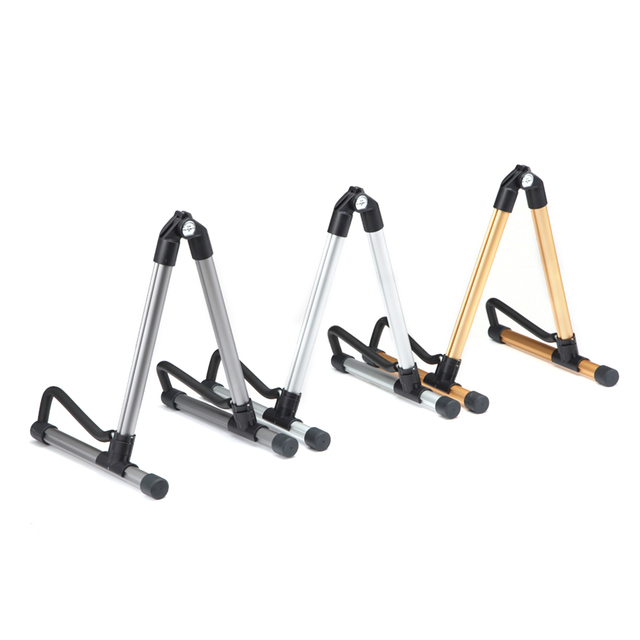 Foldable Guitar Stand Lightweight Portable Guitar Bass Stringed Instrument Stand Holder for Professional Guitarist