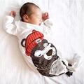 Free shipping Hot baby Sleep Sack With Sleeves Cute bear Little Red Riding Hood  Mermaid Sleepsacks Shark Sleeping Bag