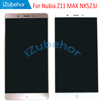 6.0 inch display screen For ZTE Nubia Z11 MAX LCD+ touch screen digitizer assembly For Nubia NX523J NX535J lcd free shipping