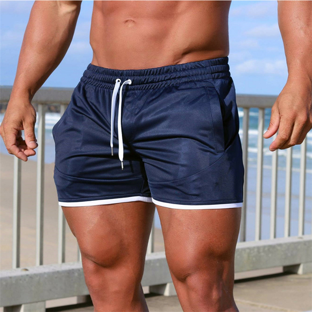 Summer new fitness shorts Fashion Breathable quick-drying gyms Bodybuilding Joggers shorts Slim fit shorts camouflage Sweatpants 4