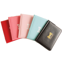 PU Leather Cute Credit Card Holder 12 Bit Korean Style Cute Sweet Card Wallet ID Card Minimalist Wallet Fashion Card Purse